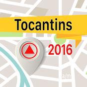 Tocantins 离线地图导航和指南 1