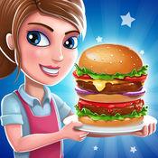顶 汉堡包 厨师 - 餐厅游戏 在 面包店 & 烹饪 发烧 故事 1.