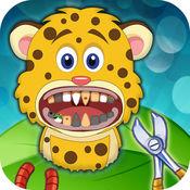 诊所 Vet 诊所 疯狂 牙医 办公室 为 驼鹿 黑豹 - 牙科 手术 游戏
