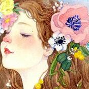 涂色花园—少女描绘秘密魔法森林书的减压大冒险app 1.02