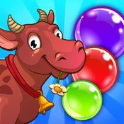 动物泡沫球射手 - 趣味樽失落之岛之旅 1
