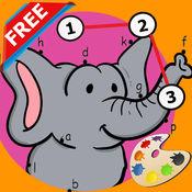 动物点到点,图画书 - 儿童免费学习游戏 1.0.1