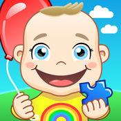 动物为小孩: 让它们配对 - 益智, 猜颜色和配对记忆卡游戏