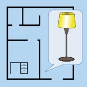 家具布置计划 - 把家具排列在平面图上