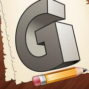学习如何绘制3D字母 1