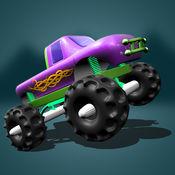 极端的怪物卡车赛车挑战 - 赛车小游戏单机跑车暴力摩托大