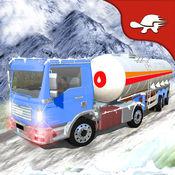 极端的冬季驱动器:雪油轮供应卡车 1.2