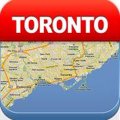 多伦多离线地图 - 城市 地铁 机场