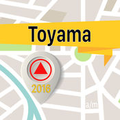 Toyama 离线地图导航和指南 1