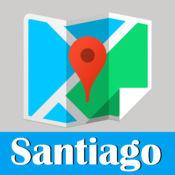 圣地亚哥旅游指南地铁去哪儿智利地图 Santiago metro gps map guide