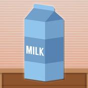 牛奶瓶翻转水挑...