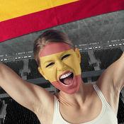 足球迷脸国旗 – 支持你的的国家队