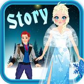 我自己的小互动白雪公主故事书游戏广告的免费应用