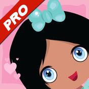 亏得女孩爱粉红色拼图-Pro 声音游戏是为幼儿园和学龄前儿童