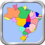 巴西地图拼图 1.2