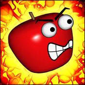 苹果复仇者:自由奔跑的乐趣,并与超级英雄的战斗水果跳的平台