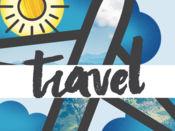 Travel-Mojis - 酷派走行贴纸度假 1