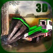 树捷运农用拖拉机3D模拟器 1