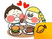 板栗头情侣 - Mango Sticker 1