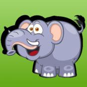 詞彙動物英語活動,為幼兒園 1