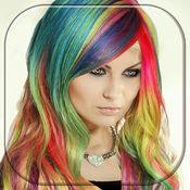 改变头发颜色 染料 改变发型 照片编辑