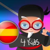 Professor Ninja Spanish 为儿童 1