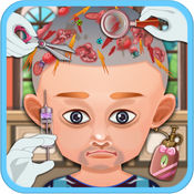 脱发治疗-脱发头发治疗,医生诊所,医生模拟器游戏 1