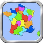 法国地图拼图