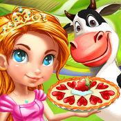 公主的农场工作假期 - 儿童趣味游戏 1.2