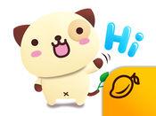 熊猫狗和朋友们 3D (Pandadog) - Mango Sticker 1