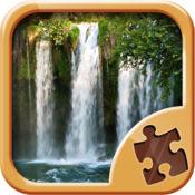 瀑布拼图难题游戏 - 智力游戏 1.1