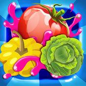 厨娘蔬菜-水果消消乐:趣味星星糖果类消除游戏 1
