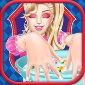 享受美甲:装扮女孩长发公主 生孩子 智力 儿童游戏免费 1