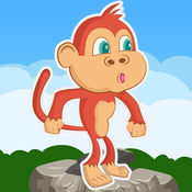 笨拙的猴子丛林赛 - 手机游戏下载小游戏赛车小好玩的單車