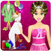 婚纱礼服定制精品,美容王子公主时尚服装