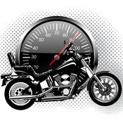 摩托车的声音...