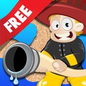免费消防员拼图 孩子和年幼的孩子孩子儿童游戏幼儿幼儿园