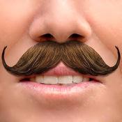 胡子 照片编辑: 搞笑的脸 自拍 贴纸