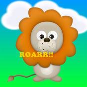 看和听动物园的动物为幼儿和孩子的孩子 - 幼儿的应用程序