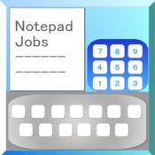 Notepad Jobs 十位按键