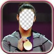 奥运换装照片制...