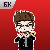 Emoji Kingdom 14  吸血鬼万圣节动态表情符号支持  iOS 8