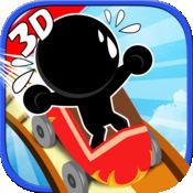3D过山车小游戏 1