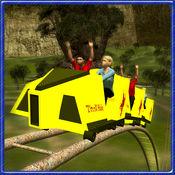 过山车骑模拟器和游乐场3d 1
