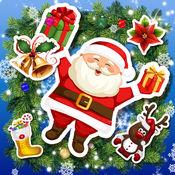 圣诞老人 照片蒙太奇
