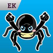 Emoji Kingdom 16  蜘蛛万圣节动态表情符号支持  iOS 8 1