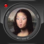 Selfie扎普:脸部蒙太奇照片服装制造商展位