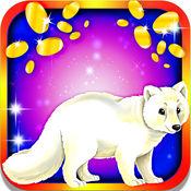北极狐插槽:赚北极的促销奖金在一个神话般的雪景 2