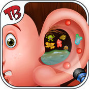 耳手术 - 博士护理及清洁您的超级脏的耳朵很有趣的游戏治