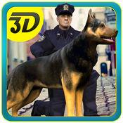 警方狗追逐犯罪镇-真实犯罪市警察追逐 3D 模拟器